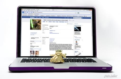 Yoda on Facebook
