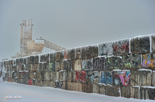 Brooklyn Red Hook In the Snow